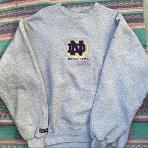 Vintage Jansport University of Notre Dame Sweater